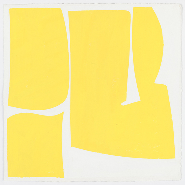 , 'Covers 18-Yellow (A),' 2014, Kathryn Markel Fine Arts
