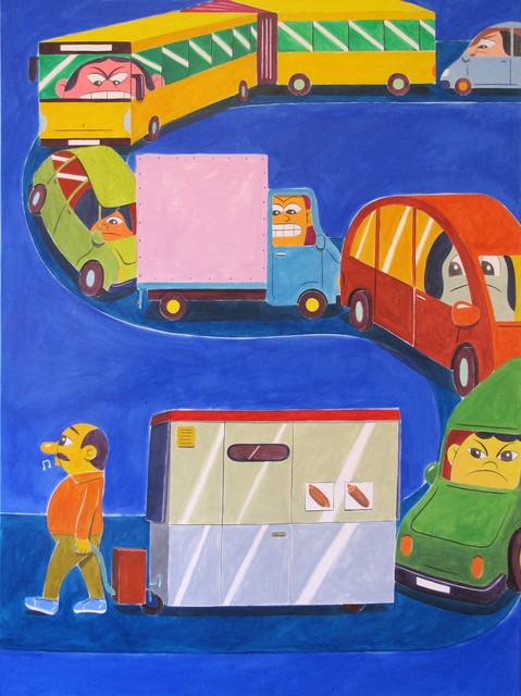 , 'MEALS ON WHEELS,' 2015, V1 Gallery