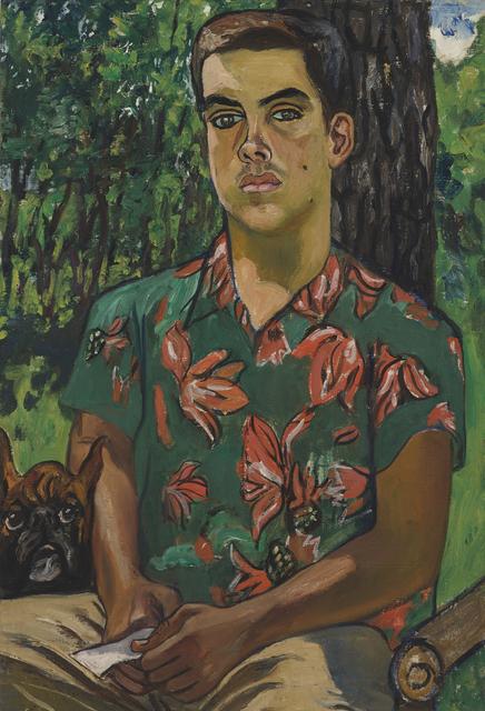, 'Richard with Dog,' 1954, Victoria Miro
