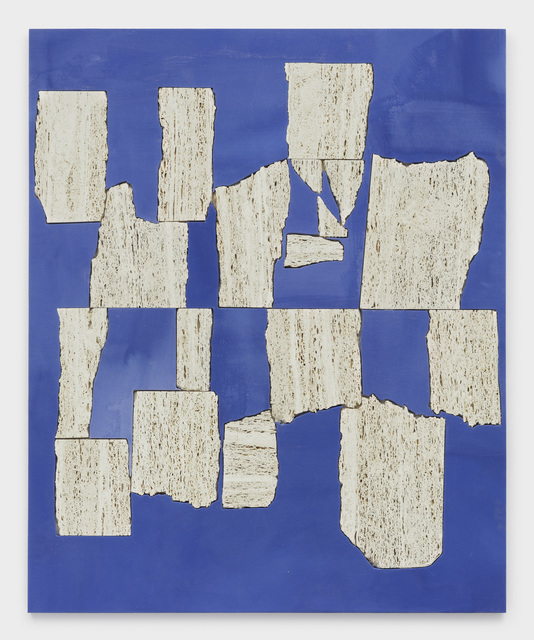 , 'Blue Wall,' 2019, Kayne Griffin Corcoran