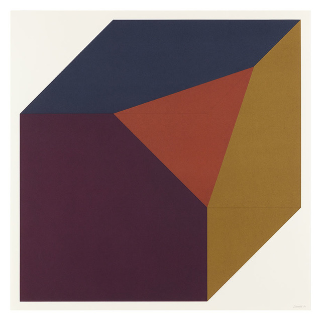 Sol LeWitt, 'Forms Derived from a Cube (Colors Superimposed) 5', 1991, Alan Cristea Gallery