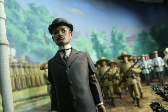, 'Diorama 35: The Execution of Jose Rizal,' , Ayala Museum