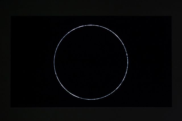 , 'Event Horizon-a circle,' 2014, Double Square Gallery