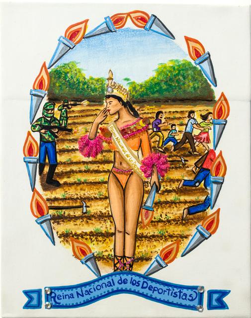 Luis Nicolás Camargo, 'Reina Nacional de los Deportistas', 2005-2007, Track 16 Gallery
