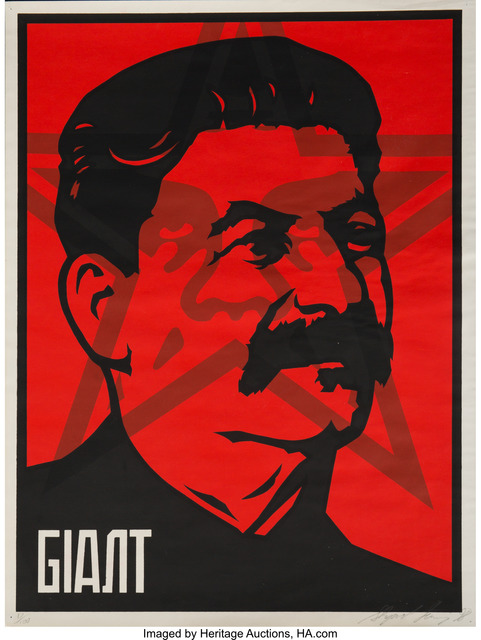 Shepard Fairey, 'Stalin', 1998, Heritage Auctions