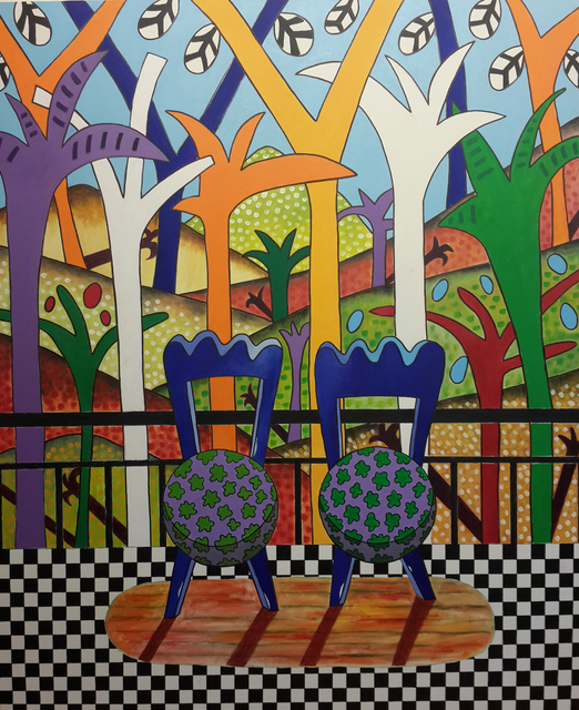 , 'Balcony I,' 2015, Siyah Beyaz Art Gallery
