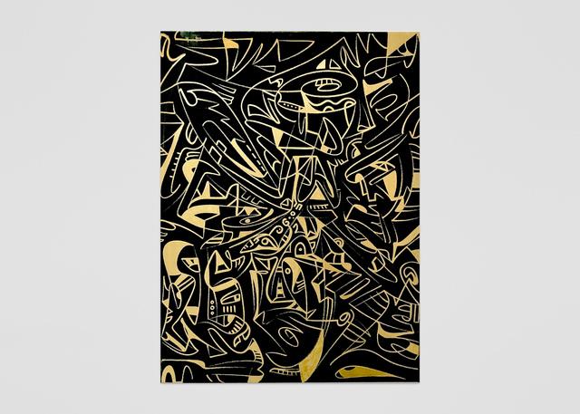 , 'Gold Rush,' 2017, ABXY