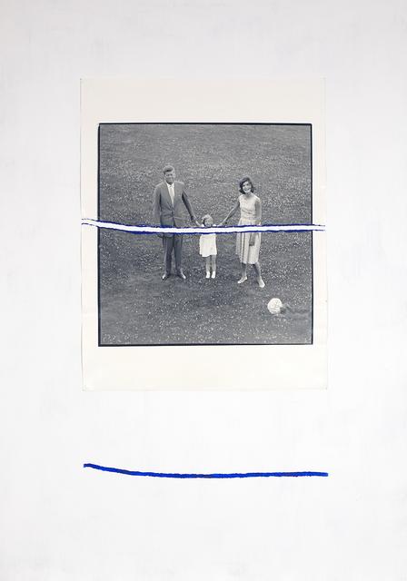 , 'Stracciafotografia (JFK #1),' 2016, MATÈRIA