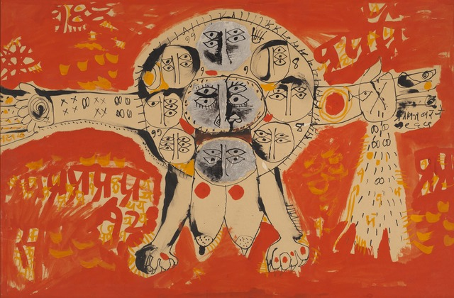 , 'Yantra III,' 1964, Grey Art Gallery
