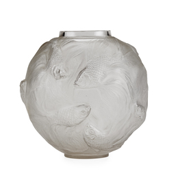 Formose vase, clear glass
