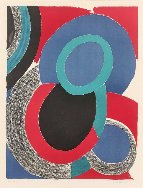 Sonia Delaunay, 'Vol de nuit', ca. 1970, Invertirenarte.es
