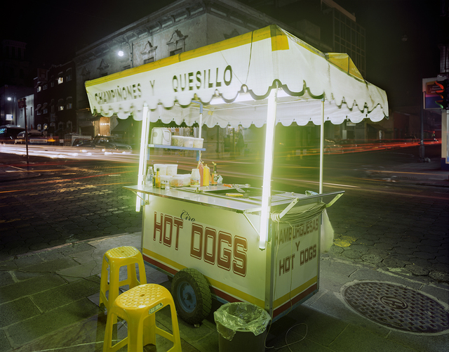 , 'Cart Selling Hot Dogs, Puebla, Puebla State, Mexico,' 2012, Robert Klein Gallery