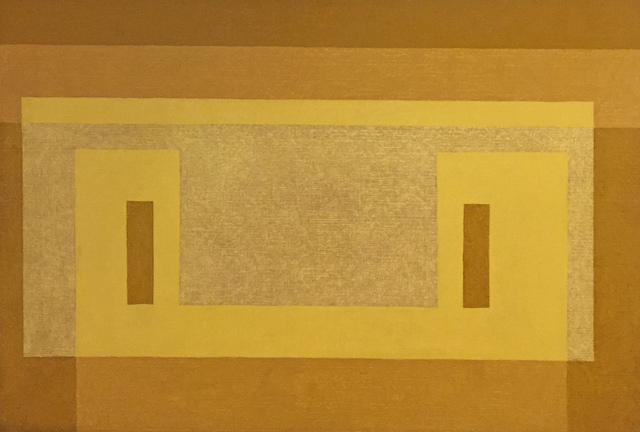 , 'Variant: Pale Yellow Façade ,' 1959, Barbara Mathes Gallery