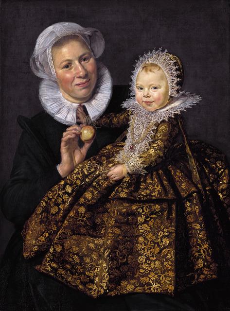 Frans Hals, 'Catharina Hooft and Her Nurse', ca. 1620, Art History 101