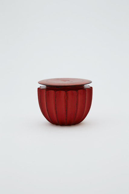, 'Ridged tea caddy, Negoro style,' 2016, Ippodo Gallery
