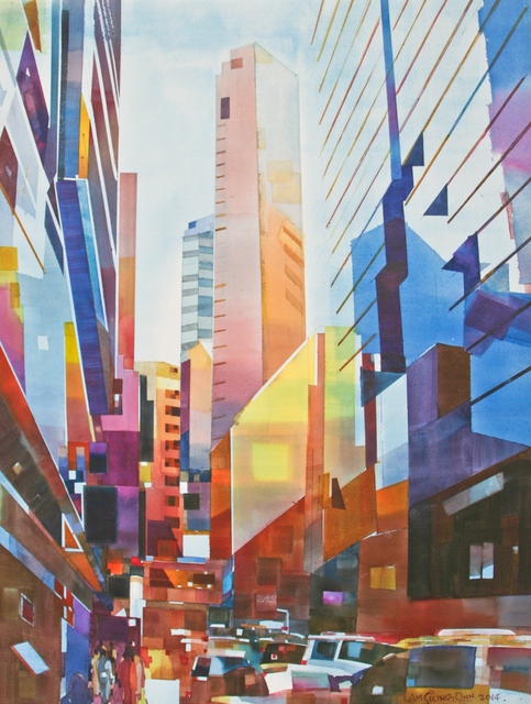 , '#7 Cityscape - Vertical City,' 2014, Affinity ART