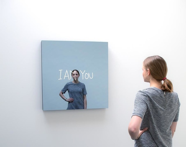 , 'I AM YOU (handwritten),' 2018, KÖNIG GALERIE