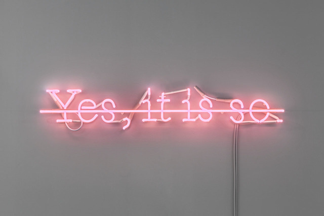 , 'Essential C.S.  #6 (Yes, it is so) ,' 1988, Lia Rumma
