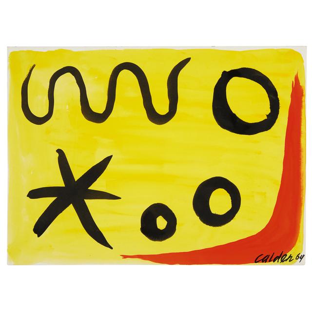 Alexander Calder, '3 Circles', Freeman's