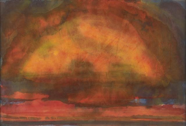 John Houston, 'East Lothian Sunset', 1978, The Scottish Gallery
