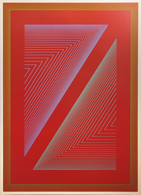 , 'Reflections VI - Fire Red,' 1979, David Richard Gallery