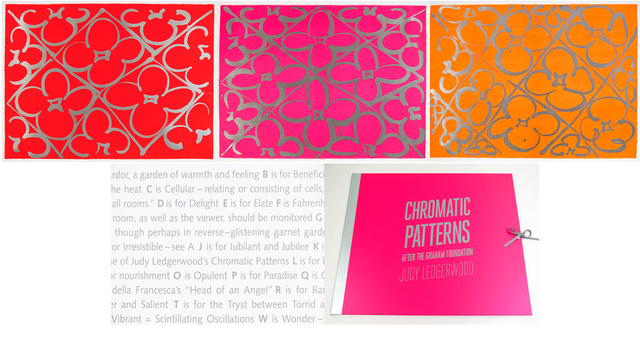, 'Chromatic Patterns After the Graham Foundation,' 2014, Manneken Press