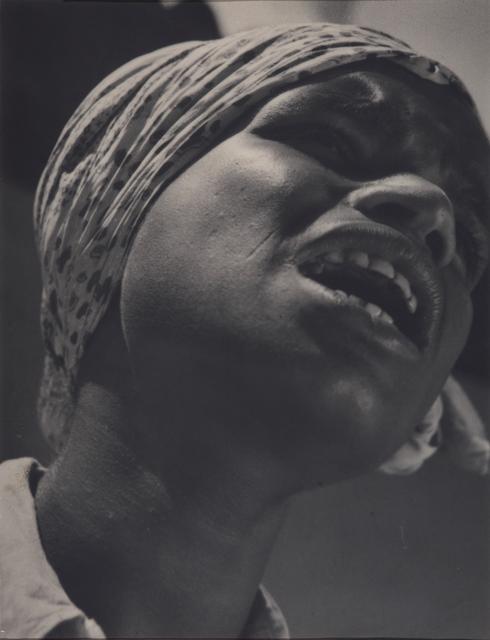 , 'Untitled (Singer in Sunshine),' 1938-1939, Jhaveri Contemporary