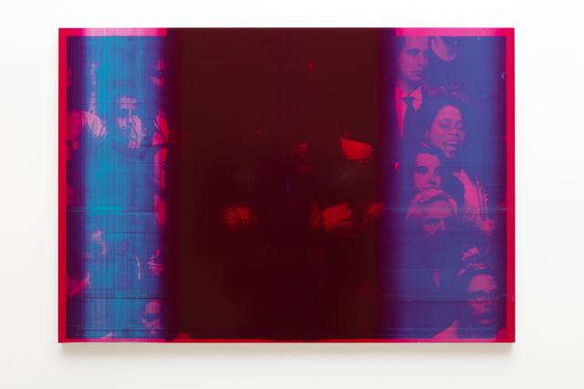, 'Red V,' 2019, Harlan Levey Projects