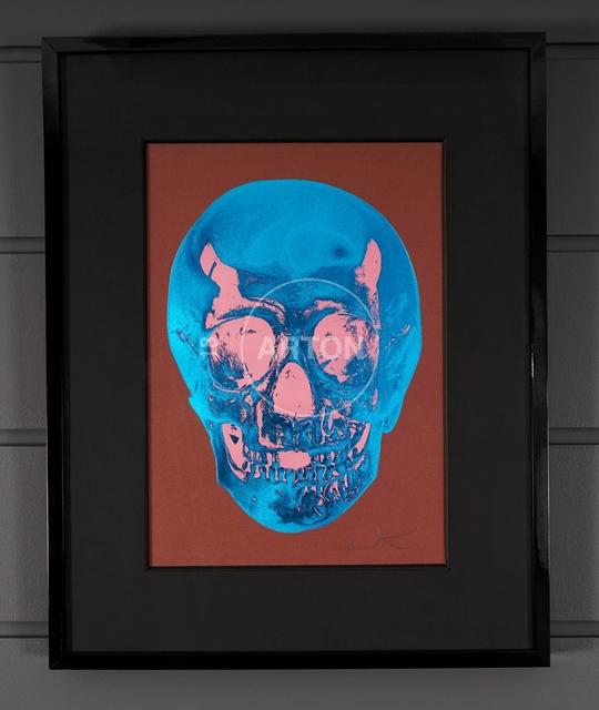 Damien Hirst, ''Till Death Do Us Part, Skull, Brown/Blue', 2012, Arton Contemporary