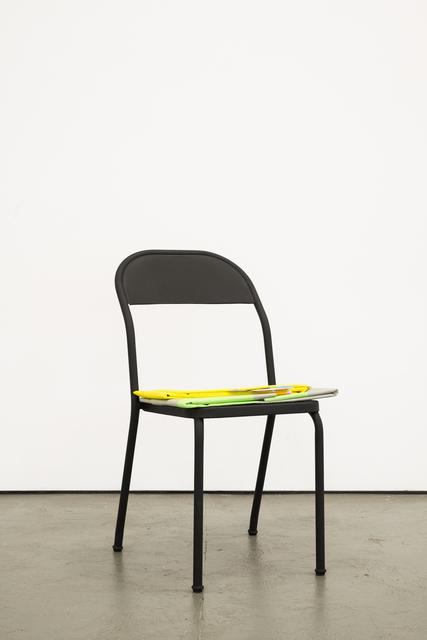 , 'CHAIR (FOLD / PLIER),' 2015-2016, Galerie Antoine Ertaskiran