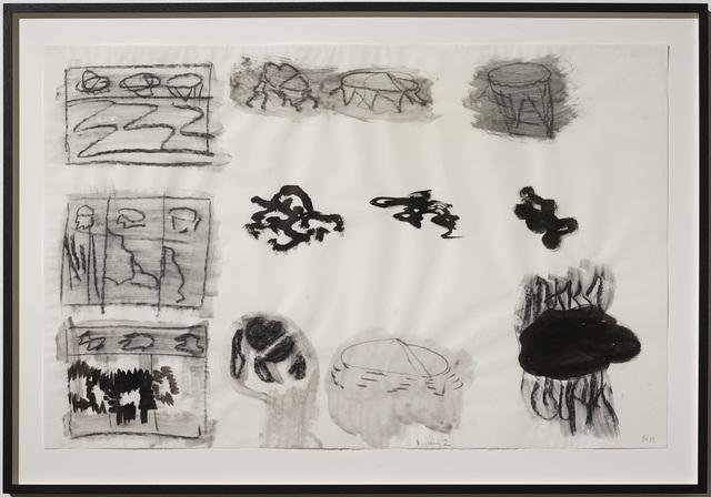 , 'Untitled (Diagram 2),' 1989, Galleri Bo Bjerggaard