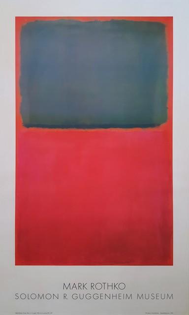 Mark Rothko, 'Green, Red, on Orange', 1978, Graves International Art