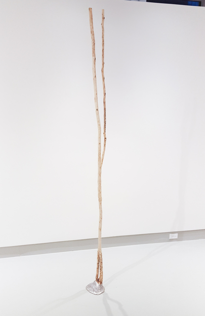 , 'Free Standing Stick,' 2017, Miller Yezerski Gallery