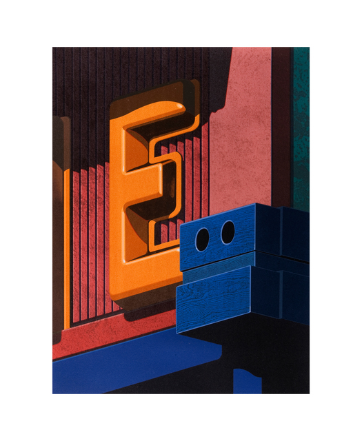 Robert Cottingham, 'An American Alphabet: E', 2008, Tandem Press