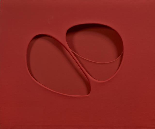 , 'Intersuperficie curva dal rosso (Costruzione su forme inventate),' 1962, Robilant + Voena