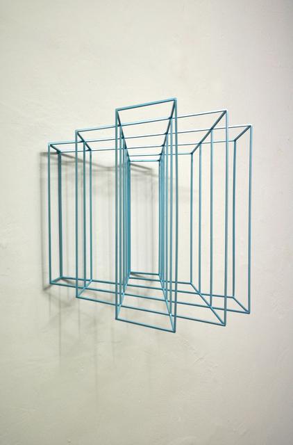 , 'Wing #3 (metallic light blue),' 2019, The Flat - Massimo Carasi