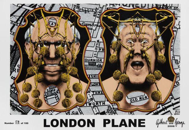 Gilbert and George, 'London Plane', 2006, Roseberys
