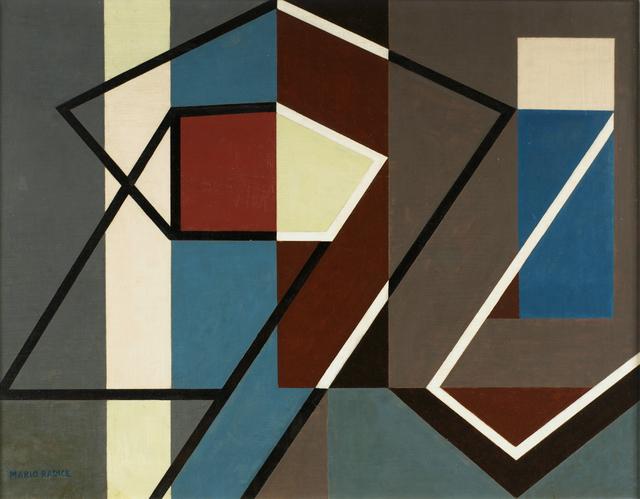 , 'Composizione,' 1944-1955, Cardelli & Fontana artecontemporanea