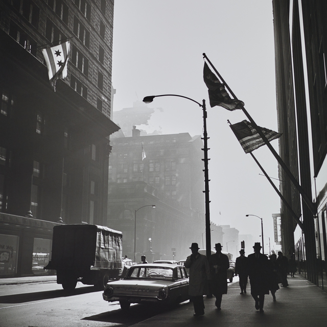 , 'VM19XXW03181 American Flags Street Scene,' Printed 2017, KP Projects