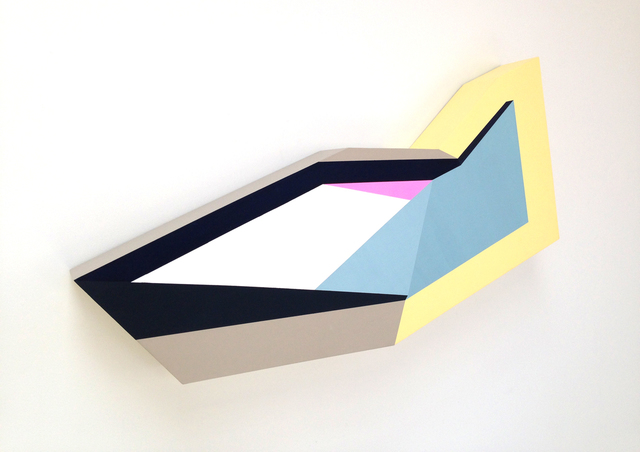Zin Helena Song, 'Polygon in Space #1', 2013, River
