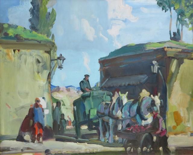 , 'Porte de Clignancourt,' 1927, WOLFS