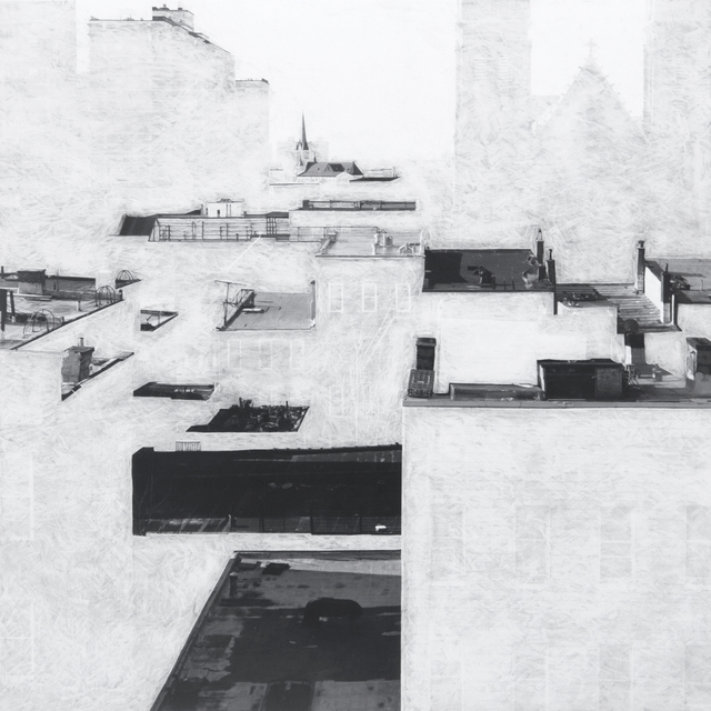 , 'Untitled (rooftops #3),' 2011, Muriel Guépin Gallery