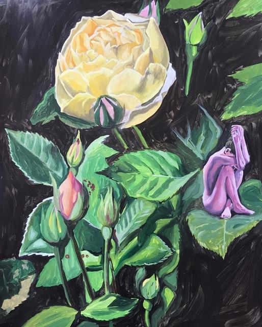 , 'O Rose, Thou Art Sick,' 2018, Hans Alf Gallery