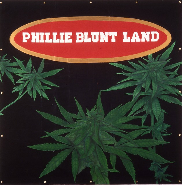 , 'Phillie Blunt Land,' 1993, Metro Pictures