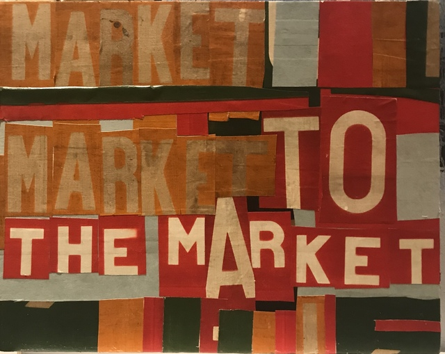 Marcus Kenney, 'To Market To Market', 2018, Laney Contemporary