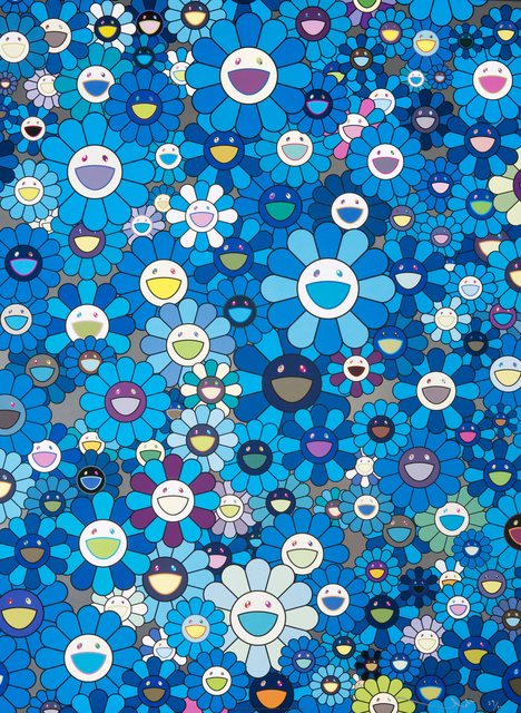 Takashi Murakami, 'An Homage to IKB', Julien's Auctions