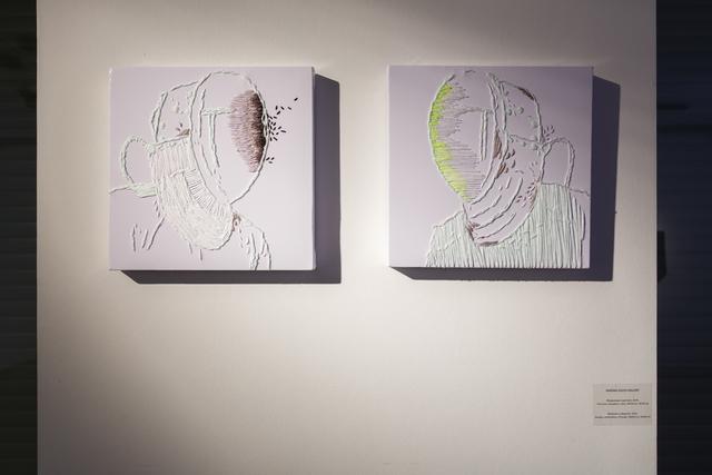 , 'Mediavirus (diptych). 2014.,' 2014, Marina Gisich Gallery
