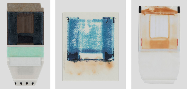 Joachim Schulz, 'Her Heart Belongs to Rothko, Tripticon 2, Polaroid, Polaroid Back, and Polaroid Transfer', 1997, ROSEGALLERY