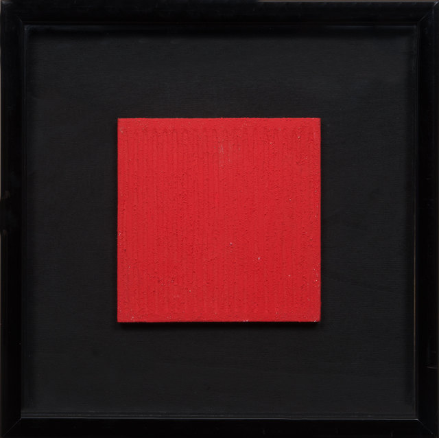 , 'Monochrome Rouge,' 1982, De Buck Gallery