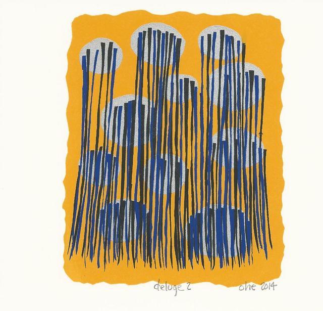 , 'Deluge 2,' 2014, Herringer Kiss Gallery